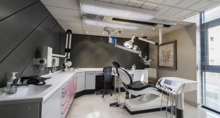 salle de soin grise